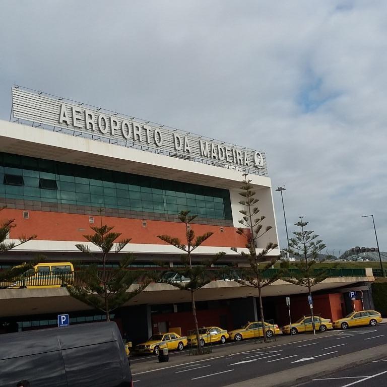 l'aéroport de Madeire