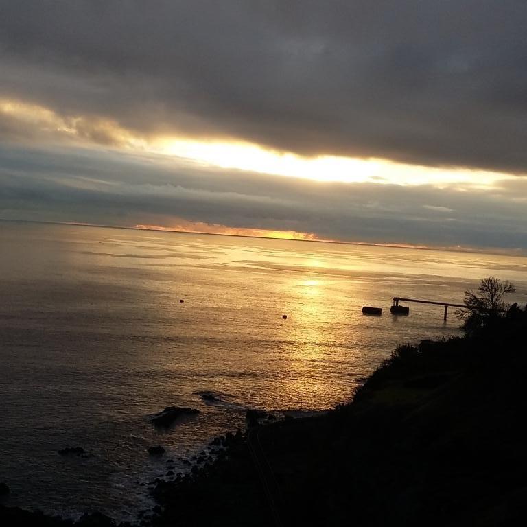 un des couchers de soleil
