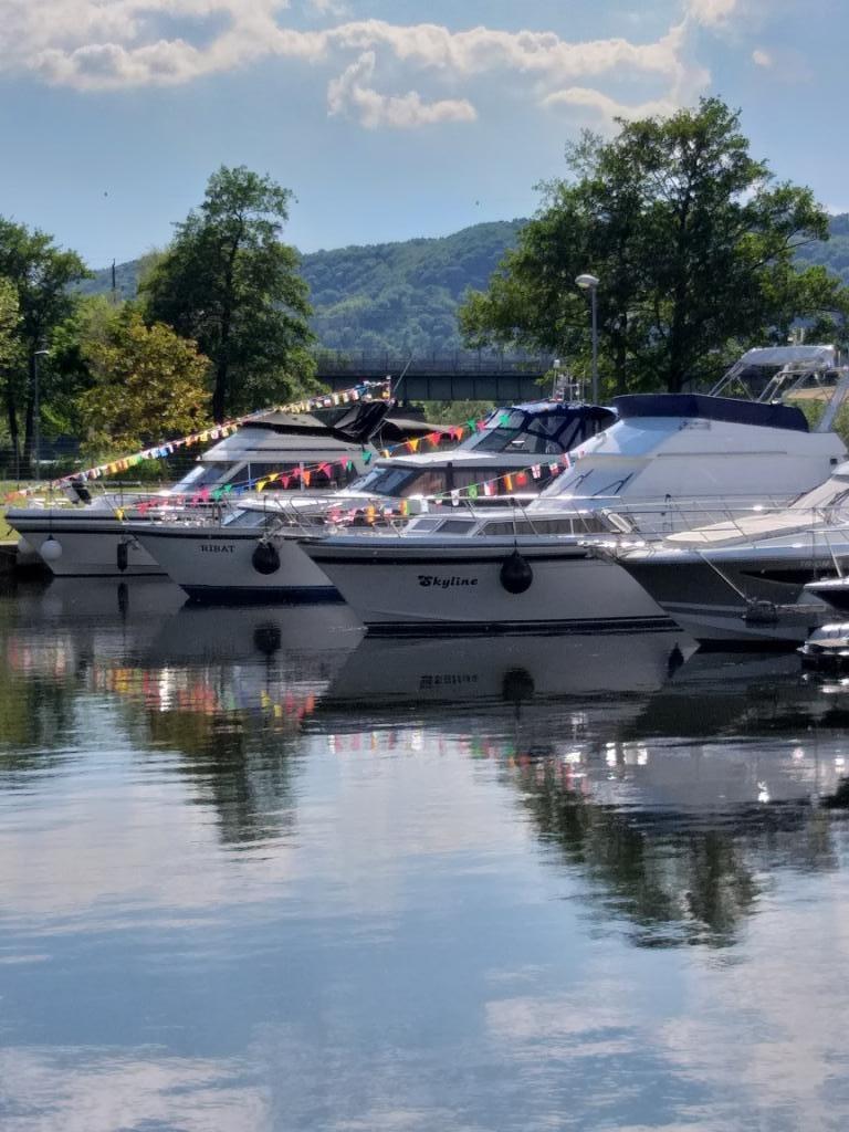 bateaux décorés à KONZ