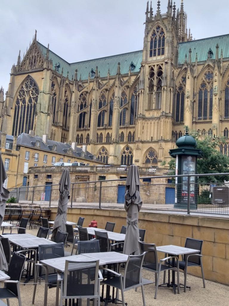 la cathédrale de Metz