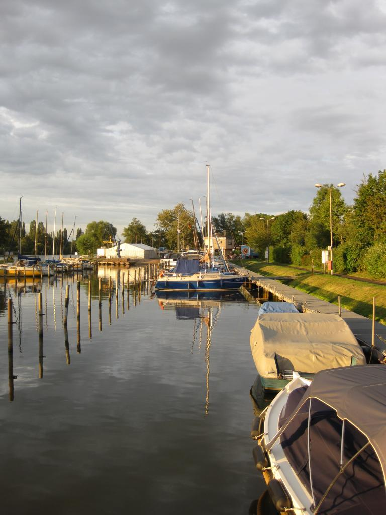 vue du port de Konz