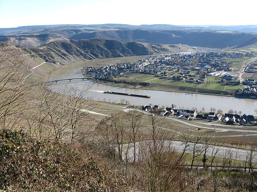 la Moselle près de Piesport