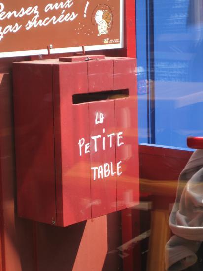 Restaurant sympa à Sauzon