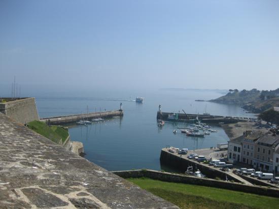 vue sur le Port de Belle-Isle