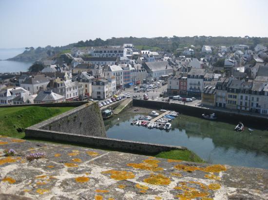 Vue du haut de la citadelle