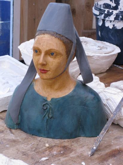 une figure Bretonne du sculpteur