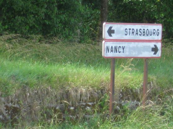 STRASBOURG OU NANCY