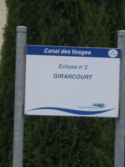 GIRANCOURT- CANAL DES VOSGES