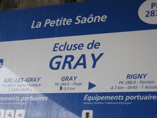 ECLUSE DE GRAY