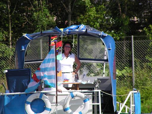 Baptême des bateaux à Konz