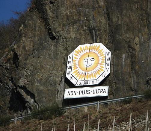 Horloge solaire de N.-Dhron