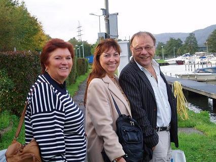 Viviane, Gaby et Joseph