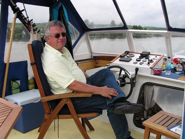 Georg sur le pont