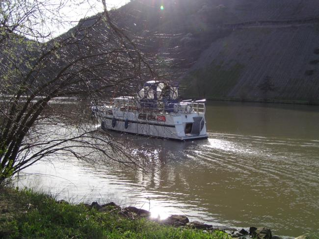 Georiane sur la Moselle