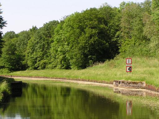 Sur le Canal des Houllières