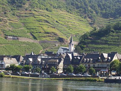 Vue en passant sur le Rhin