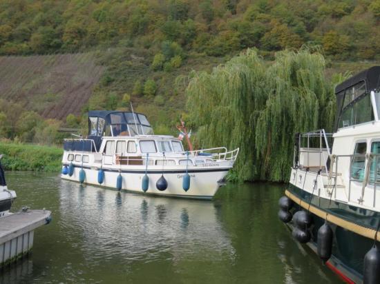 sortie du port de Neumagen-Dhron