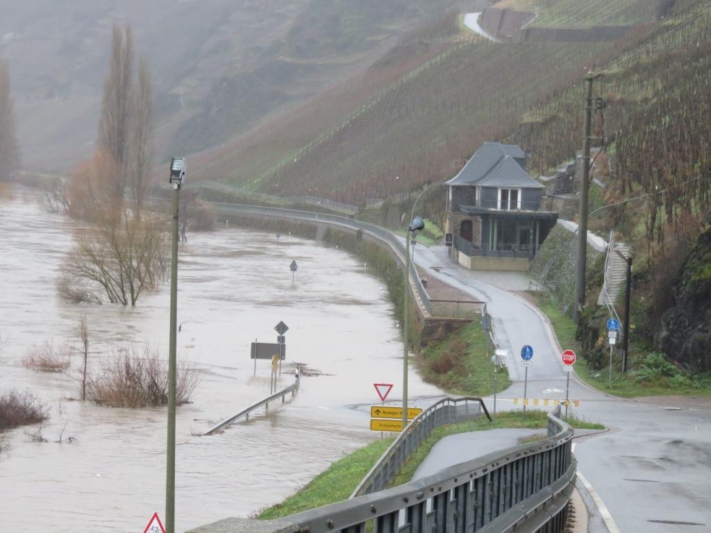 Route barrée Trittenheim- Neumagen Dhron