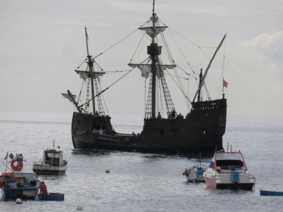 le bateau de pirates....pour touristes
