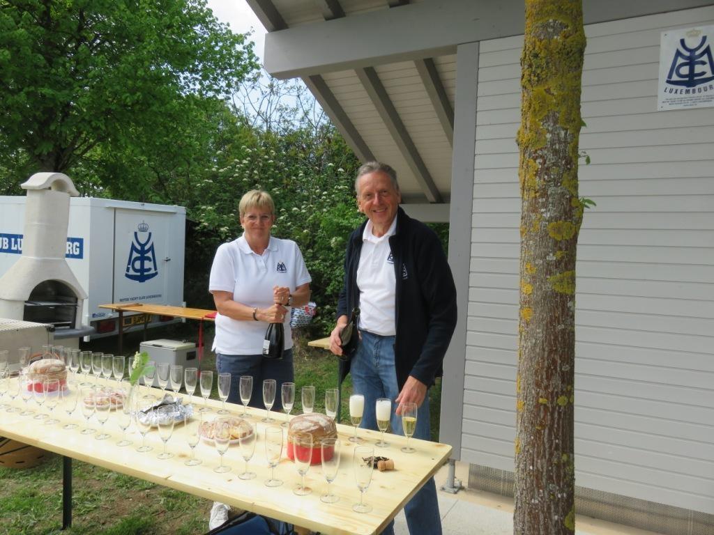 Adrienne & Jean-Paul en plein préparatifs