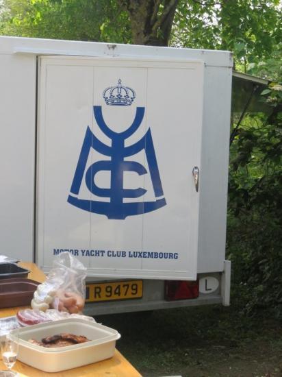 camionette du MYCL