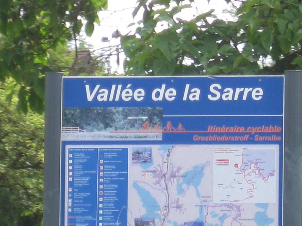 VALLÉE DE LA SARRE