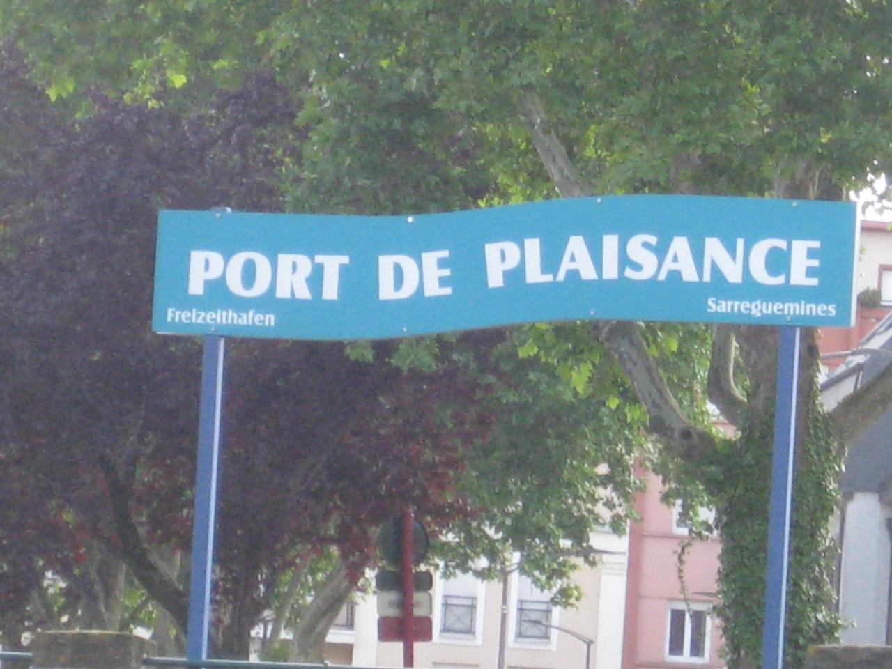 PORT DE PLAISANCE DE SARREGUEMINES