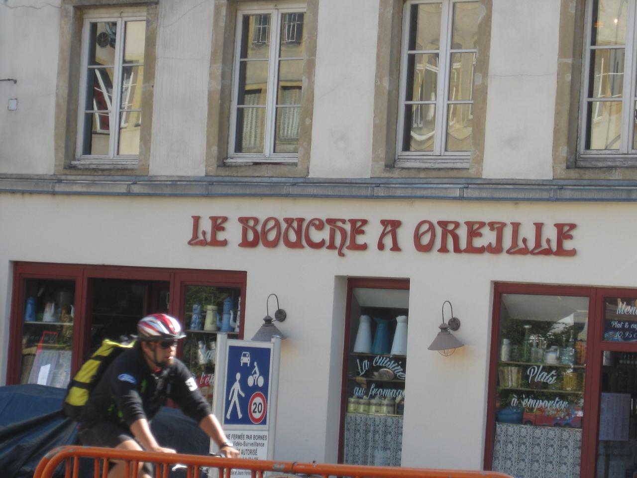 RESTAURANT LE BOUCHE A OREILLE A METZ