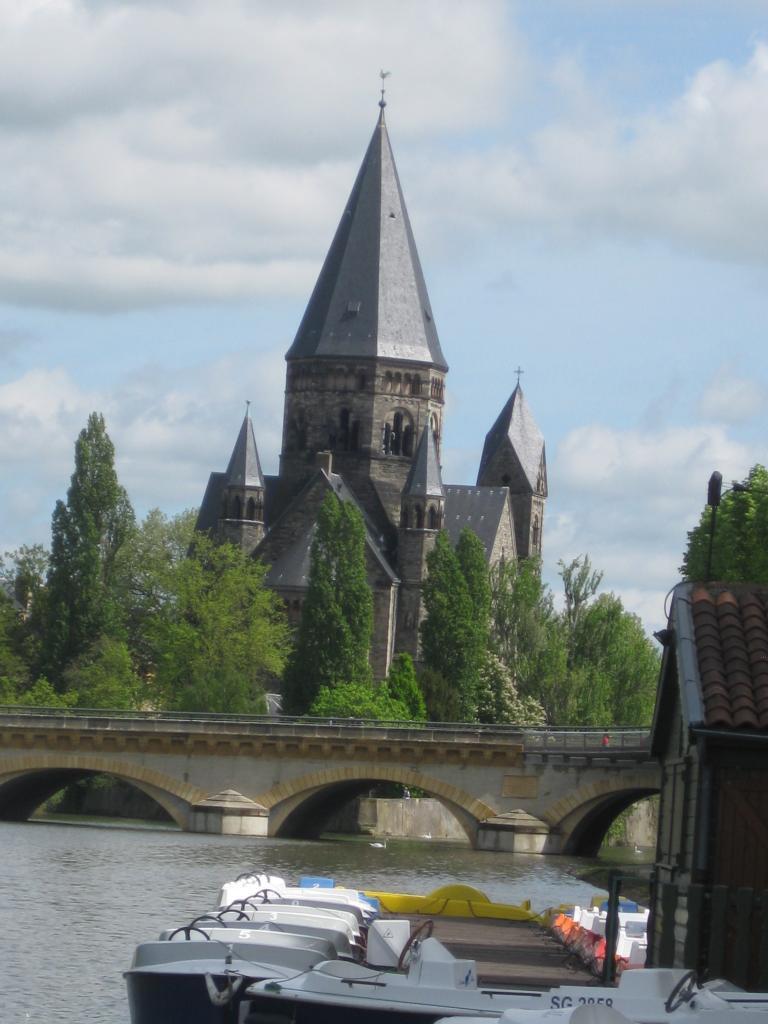 Metz- l'église Evangéliste