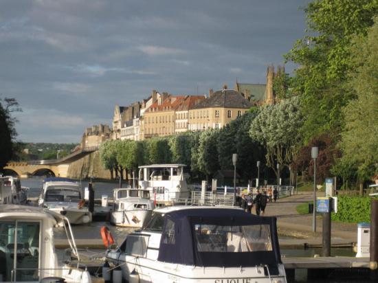vue sur la cathédrale de Metz
