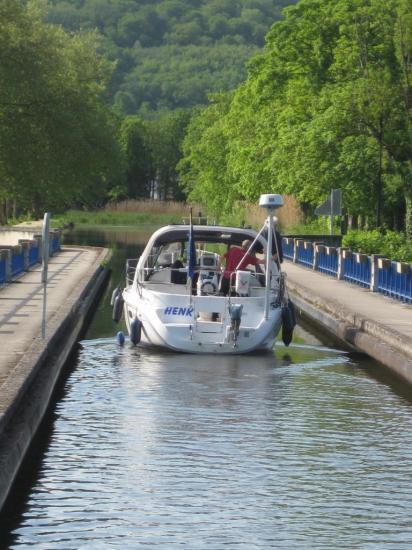 Canal des Vosges- un pont canal