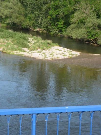 sur le pont canal