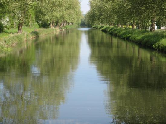 vue du canal des Vosges