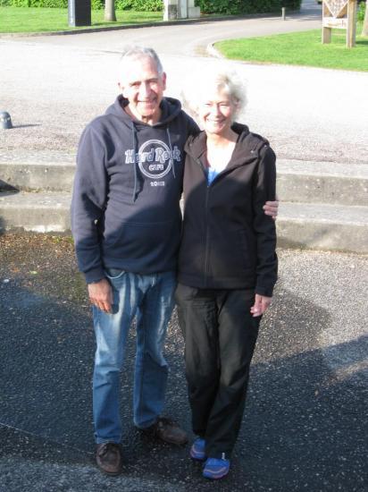 PIeter et Elke du bateau Henk