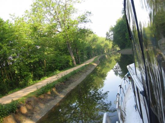 retour vers le Canal